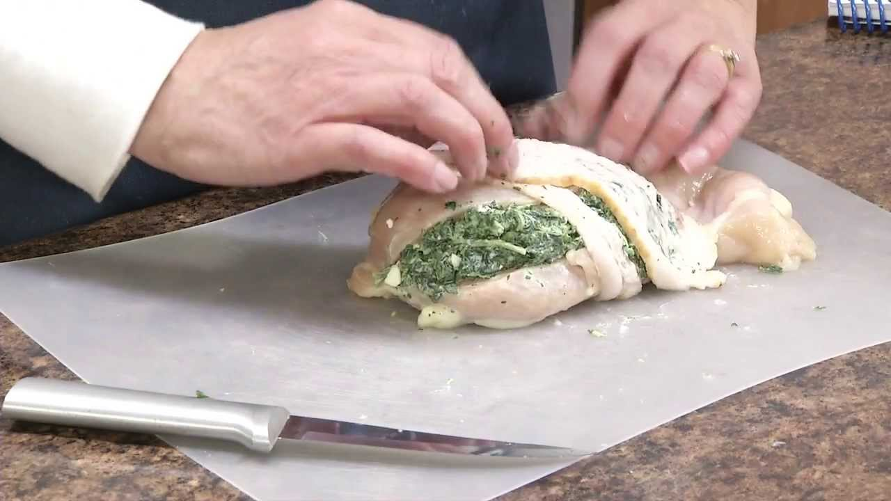 Feta And Spinach Stuffed Chicken Breast Recipe  Radacutlery  Youtube