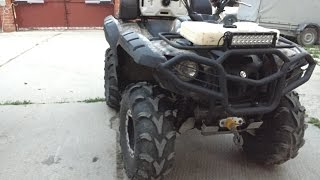 #Технарь. Итоги ремонта Yamaha Grizzly 700 // #Techie. Results repair Yamaha Grizzly 700