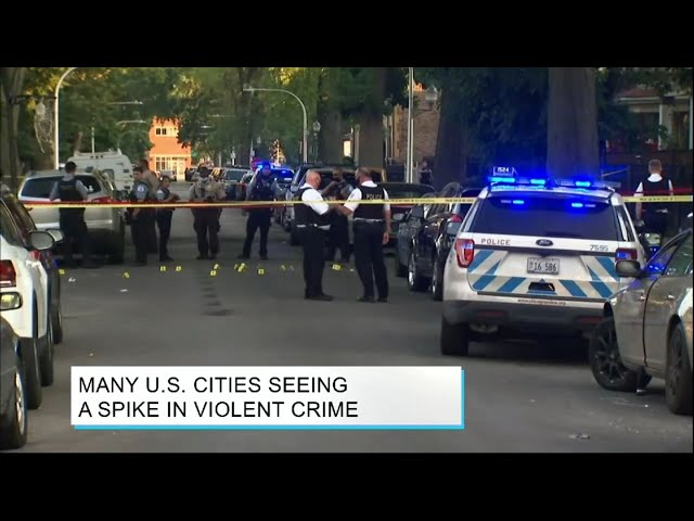 On the Docket: Many U.S. Cities Seeing a Spike in Violent Crime