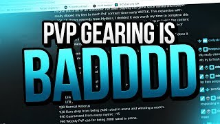 PvP gearing is bad and not fun (HELP) - Legion Venruki World of Warcraft