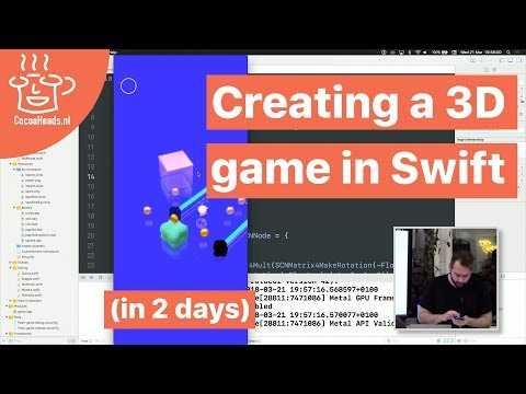 Repeat IOS 11, Swift 4, Tutorial: How To make 3D model