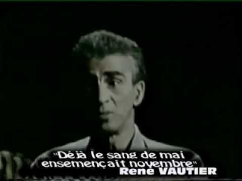 KATEB YACINE on  ALBERT CAMUS (With English Translation)