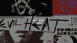 Primal Scream - Skull X (Remastered) (Lyric Video)