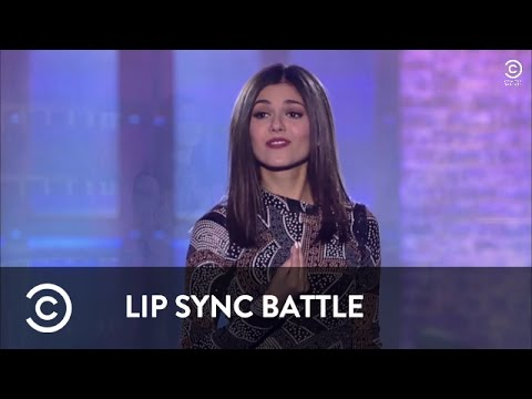 Total Eclipse Of The Heart - Victoria Justice | Lip Sync Battle
