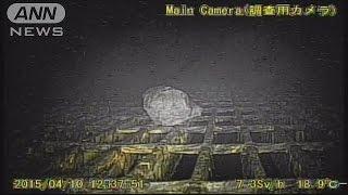 福島第一原発 格納容器の内部をロボットが撮影(15/04/14)