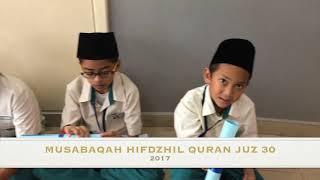 MUSABAQAH HIFDZHIL QURAN 2017, NATIJAH