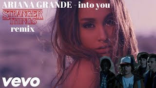 Ariana Grande - Into You (Stranger Things Remix) [Official Music Video]