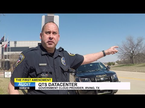 First Amendment Audit - QTS Data Center - Irving, TX