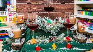 DIY Christmas Drink Charms - Home & Family