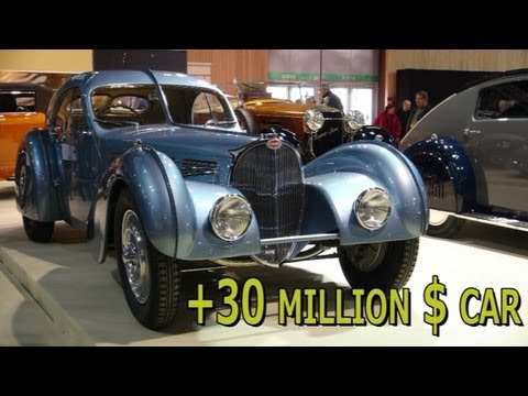 Most Expensive Car In The World Bugatti Type 57sc