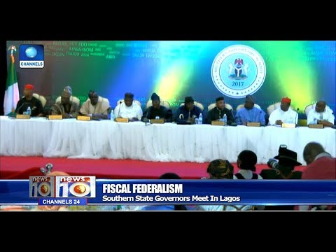 Southern Governors Meet In Lagos, Back Devolution Of Powers Pt.2 |News@10| 23/10/17