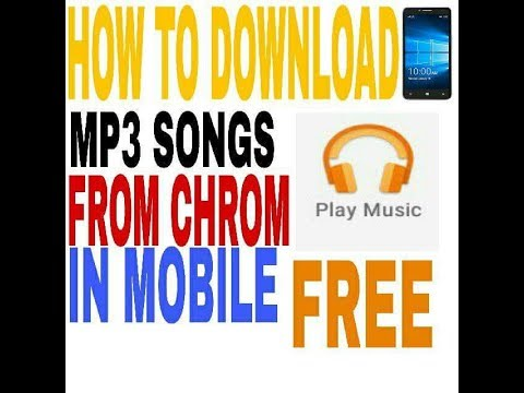 HOW TO DOWNLOAD SOUNGS THROUGH CHROME BROWSER MP3 EASY TRICK 100% WORKING