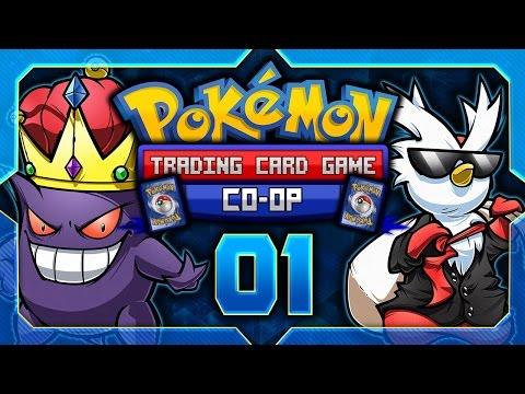 Pokémon Trading Card Game [GBC] Co-op Let's Play w/ TheKingNappy & ShadyPenguinn! - Ep 1