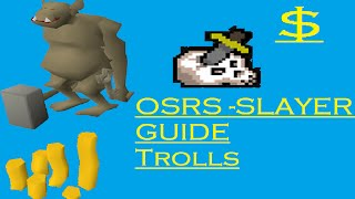 OSRS - Troll Slayer Guide - Ranging SAFESPOT. No Requirements