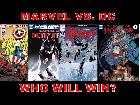 MARVEL COMIC BOOKS VS. DC COMIC BOOKS  WHO IS THE BEST PUBLISHER? & CLICK BAIT TITLE SO YOU'LL WATCH