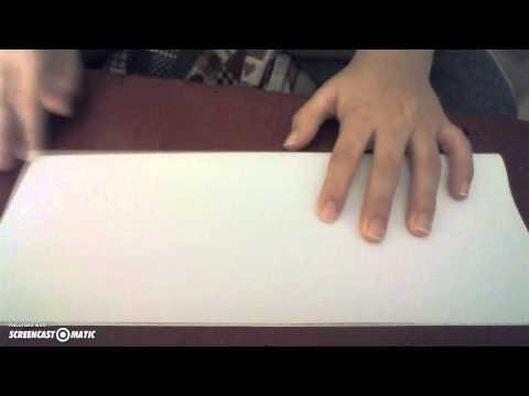 How to make a paper sword TMNT Leonardo.