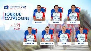 Tour de Catalogne 2018 : La bande-annonce de l'Équipe Cycliste Groupama-FDJ