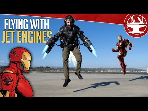 Learn to Fly Like IRON MAN!!!
