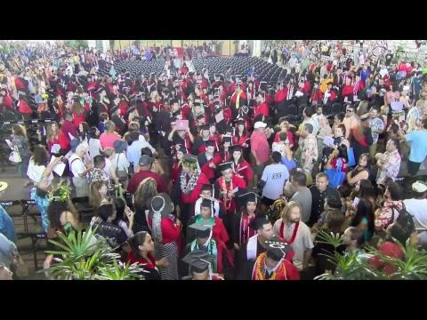 UH Hilo Spring 2017 Commenvcement