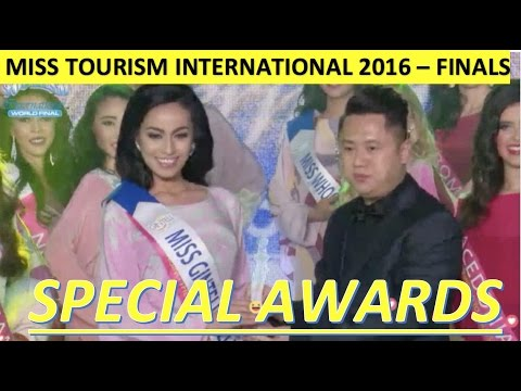 Miss Tourism International 2016 - Miss Philippines - SPECIAL AWARD - WORLD FINALS
