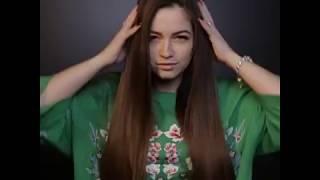 Прическа на густые волосы