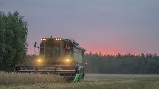 Deutz-Fahr 6040 | Nocne żniwa 2017 |  Harvest 2017