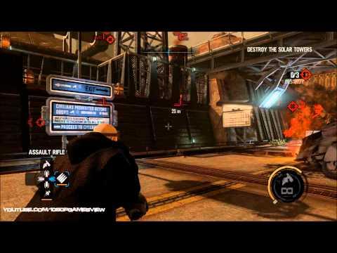 Red Faction Armageddon - Gameplay - Hardcore-Destroy-Settings