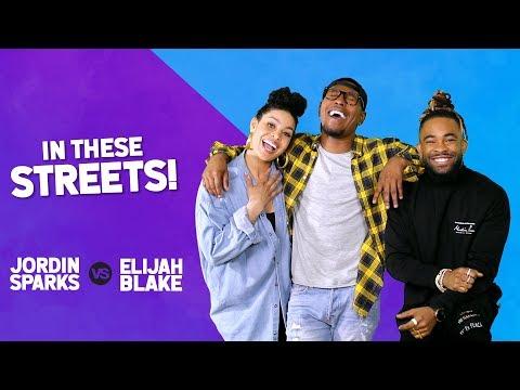 """JORDIN SPARKS vs. ELIJAH BLAKE   In These Streets! Ep.1   """"90s RnB"""""""