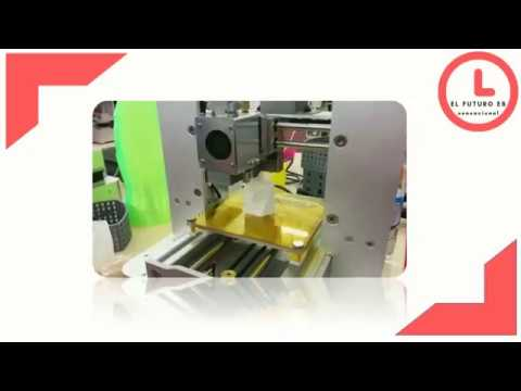 Impresora 3D capaz de generar alimentos