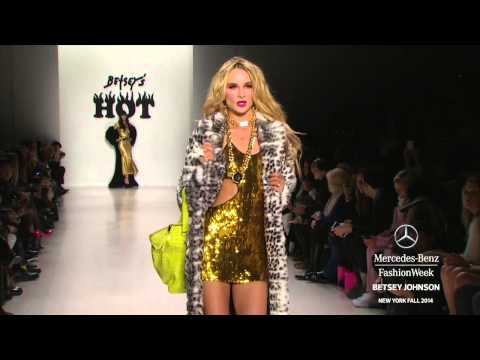 BETSEY JOHNSON: MERCEDES-BENZ FASHION WEEK Fall 2014 COLLECTIONS | MBFW