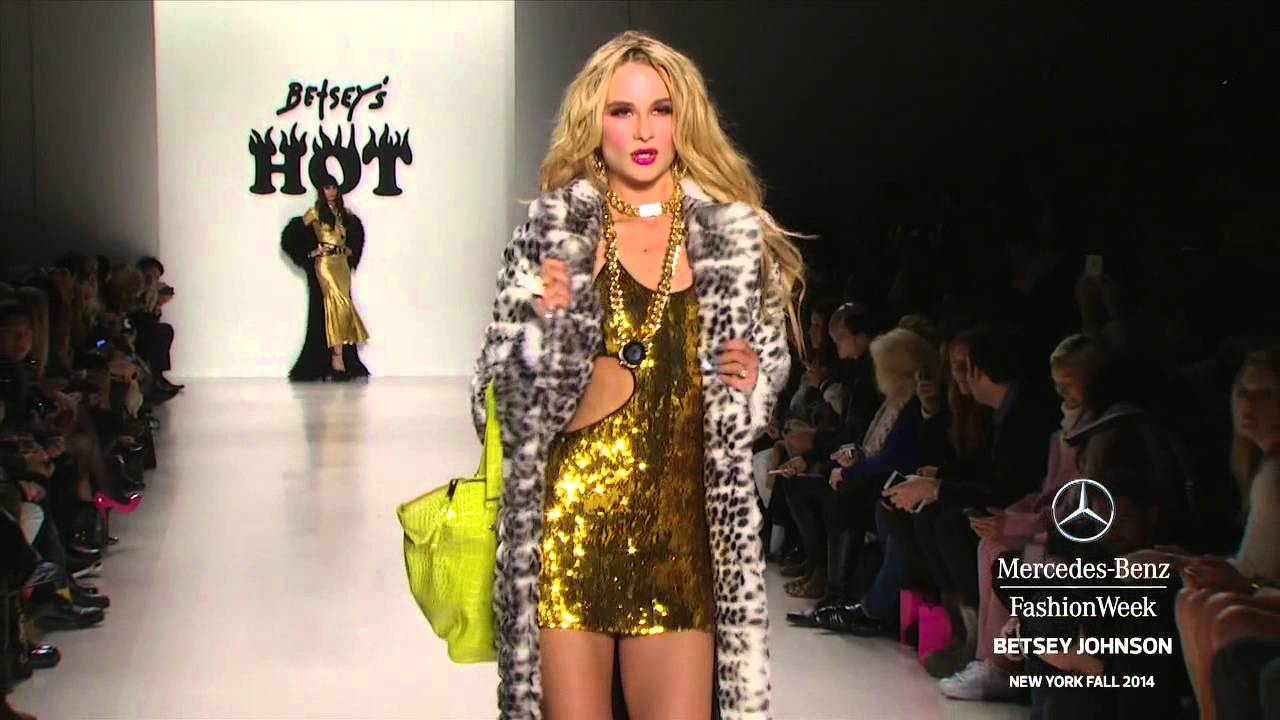 BETSEY JOHNSON MERCEDES,BENZ FASHION WEEK Fall 2014 COLLECTIONS