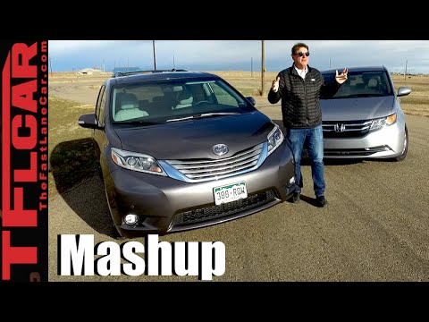 2016 honda odyssey vs toyota sienna midweek mashup review. Black Bedroom Furniture Sets. Home Design Ideas