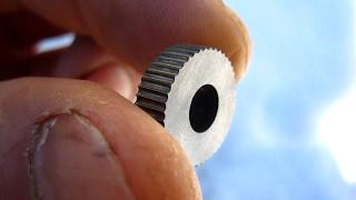 ? Как сделать накатку для твёрдых металлов