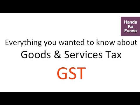 Everything about GST (Goods and Services Tax) - Factopedia - GK Video Tutorials