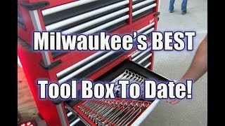 "Video NEW! Milwaukee Mechanics Tools & Awesome New 46"" Wide 22"" Deep Premium Tool Chest download MP3, 3GP, MP4, WEBM, AVI, FLV Juni 2018"
