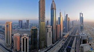 Передвигаемся между высотками Дубая - We move between skyscrapers in Dubai