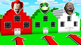 DO NOT CHOOSE THE WRONG HOUSE! (Dame Tu Cosita, Granny, Pennywise)