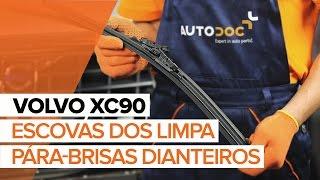 Substituição Bomba de água + jogo de correia de distribuição VOLVO XC90: manual técnico