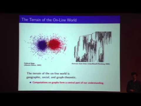 Computational Phenomena in Social Interaction - Jon Kleinberg