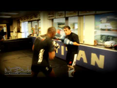 Young up and coming MMA fighter interview, Dominic Wooding. William Burke