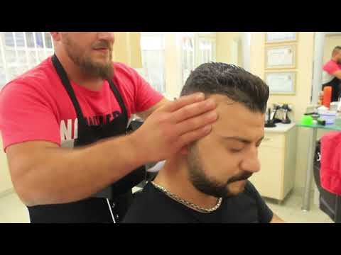ASMR Turkish Barber Face,Head and Upper Body Massage 110 (21 Mins)
