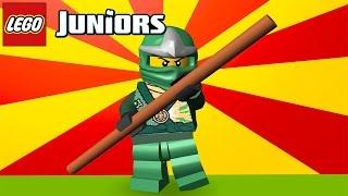 LEGO Juniors Quest. Sneaky GREEN NINJA. Lego ninjago / KidsPlayTV