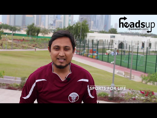 HeadsUp with Amanat Solanki | #33: SPORTS FOR LIFE
