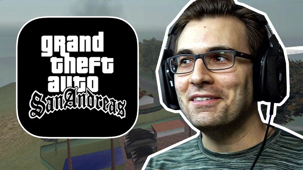 Aleatoriedades no GTA San Andreas MOBILE!