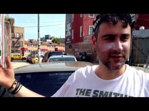 Saman Arbabi explains Inside Out: Faces Of Iran project in Bushwick ...