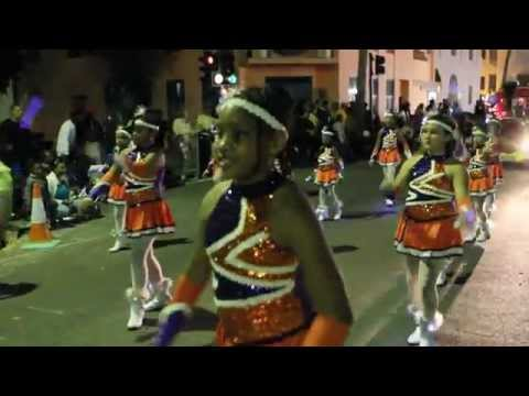 #2 Warwick United Majorettes At Santa Parade Hamilton Nov 27 2011
