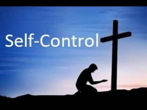 Self-Control  -  16 Bible verses in review