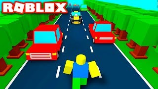 DODGING CARS in Roblox Traffic Rush!