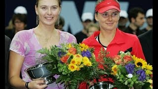 Maria Sharapova VS Daniela Hantuchova Highlight Zurich 2006 F
