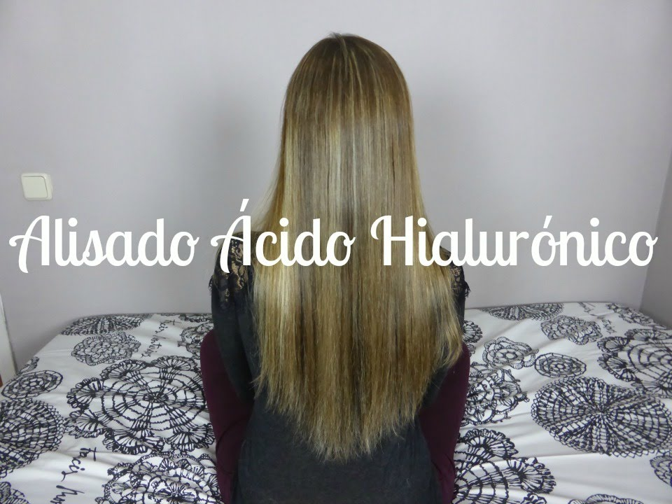 Tratamiento con acido hialuronico para el cabello